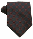Gucci Navy Silk Horsebit Tie 196888