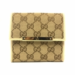 Gucci Original GG Flap French Wallet Gucci Trademark 112664