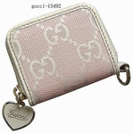 Gucci Pink Coin Purse Women's Wallet 154592