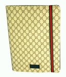 Gucci Portfolio Breifcase Attache Logo with Green Red Strap