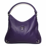 Gucci Purple Deer Skin Leather Hobo Bag 268636