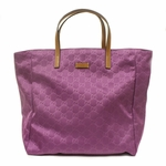 Gucci Purple Nylon GG Tote Bag 282439