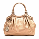 Gucci Rose Gold Leather Sukey 211944
