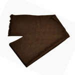 Gucci Scarf Brown Silk/Wool 165904