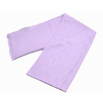 Scarves and Neckties: Gucci Scarf Lavender Silk/Wool 165903