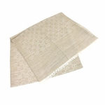 Scarves and Neckties: Gucci Scarf Oatmeal Silk Wool 165904