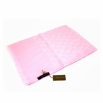 Scarves and Neckties: Gucci Scarf Pink Cashmere/Wool 233724