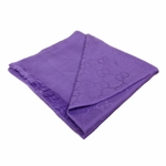 Gucci Scarf Purple Cashmere/Wool 233724