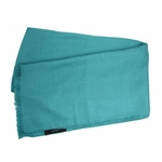 Gucci Scarf Turquoise Cashmere/Wool 165904
