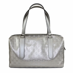 Gucci Silver 'Joy' Boston Bag 257288