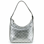 Gucci Silver Leather Hobo 248897