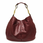 Gucci Soft Icon Bordeaux Burgundy Leather Hobo Bag 309574