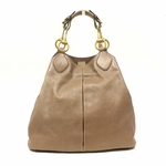 Gucci Soft Icon Pink Tan Leather Horsebit Hobo Bag 309579
