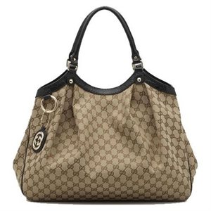 Gucci Sukey Large Shoulder Bag Tote Handbag 211943