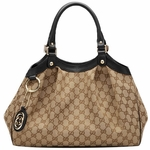 Gucci Sukey Tote Medium Black