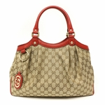 Gucci Sukey with Red Leather 211944