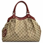Gucci Sukey with Red Trim