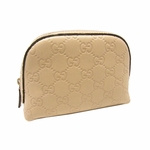 Gucci Tan Cosmetics Bag 272366