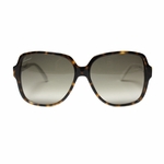 Gucci Tortoise with White Frame Women's Sunglasses GG3582/S