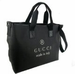 Gucci Trademark Tote Black 231860