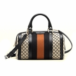 Gucci Vintage Web Boston Bag 269876