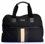 Gucci Web Duffle Bag Black