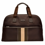 Gucci Signature Web Duffle Bag Brown