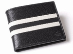 Gucci Web Leather Wallet 231845