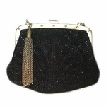 Gucci Wrisltet Limited Edition Black Beaded 144606