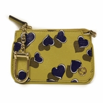 Gucci Yellow Leather Heart Clip Coin Case Purse 233183 AV61G