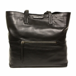 Miu Miu Black Leather Tote Bag RR1820