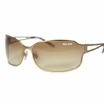 Miu Miu Gold Sunglasses SMU61H