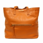 Miu Miu Orange Leather Tote Bag RR1820