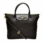 Prada Black Nylon Saffiano Bag BN2107