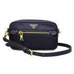 Prada BT0773 Small Crossbody Messenger Navy