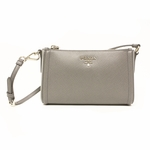 Prada Gray Saffiano Leather Small Bag 1N1733
