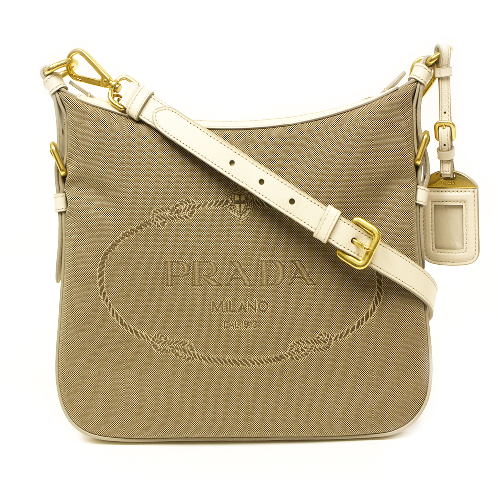 3c908693d79e ... ebay prada logo canvas crossbody bag ec426 18591