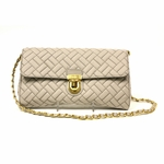 Prada Pomice Quilted Chain Crossbody Tote