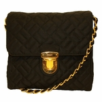 Prada Quilted Chain Handbag