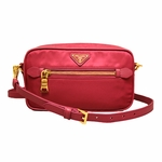 Prada Small Crossbody Messenger Handbag Pink BT0773