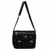 Prada Crossbody Messenger Bag Black BT0713