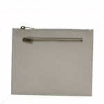Saint Laurent Classic Leather Document Holder 315872, Off White