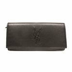 YSL Belle de Jour Black Leather Wallet 352905
