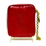 YSL Belle de Jour Red Clutch