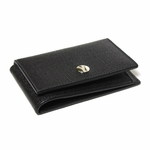 YSL Black Leather Business Card Case 247461