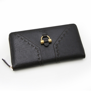 YSL Muse Black Leather Wallet 164570 Queen Bee - Archives