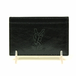 YSL Black Patent Leather Cardholder