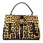 Yves Saint Laurent YSL Brown Leopard Print Muse 2