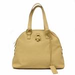Yves Saint Laurent 311226 YSL Muse Nude Leather Large Satchel Bag