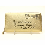 YSL Gold Y-Mail Women's Wallet